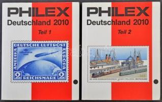 Philex Németország I-II. katalógus (2010) újszerű állapotban
