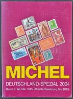 Michel Németország speciál katalógus 2004, 2. kötet az 1945 utáni kiadásokkal, használt