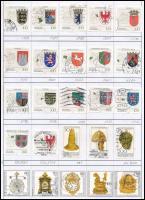Németország összeállítás, benne 230 db bélyeg dossziéban (Mi EUR 230,-)
