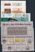 1997-2013 6 db klf emlékív (23.000)
