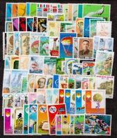 Észak-Korea 190 db bélyeg 2 oldalas nagyalakú berakólapon
