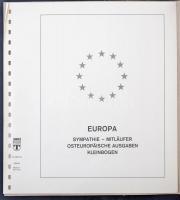 Liechtenstein, Románia, Bulgária 1962-1975 Európa CEPT és Europa motívumos falcmentes előnyomott lapok
