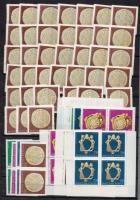 1973 Magyar Nemzeti Múzeum régi magyar ékszerei 45 db sor, összefüggésekben is