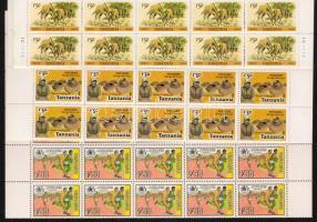 Tanzánia 1980-1986 6 klf teljes ív