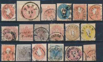 1850-1864 18 db bélyeg
