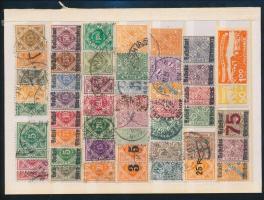 Német államok Württemberg 1857-1897 84 db bélyeg (Mi EUR 470,-)