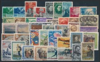 Szovjetunió 1950-1952 Kis tétel stecklapon (Mi EUR 130,-)