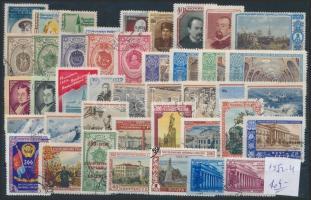 Szovjetunió 1953-1954 Kis tétel stecklapon (Mi EUR 104,-)