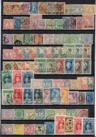 Hollandia, Portugália, Angol gyarmatok 163 db bélyeg A4-es berakólapon