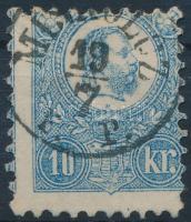 1871 Kőnyomat 10kr MISKOLCZ