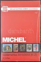 Michel Dél-Amerika katalógus 2013/2014 Tengerentúl 3/2 kötet új állapotban