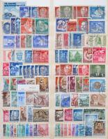 NDK gyűjtemény jobb kezdeti résszel, sok összefüggéssel 4 db berakólapon, Kabe csavaros borítóval (Mi EUR ~889,-)