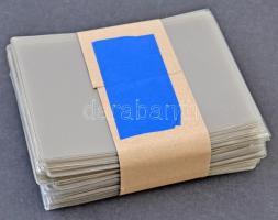 100 db 16x11,5 cm-es műanyag tasak levelek és képeslapok tárolására