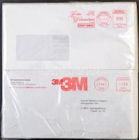 NSZK 1 kg piros gépi reklám bélyegzésű boríték