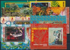 Egyenlítői Guinea 8 klf blokk