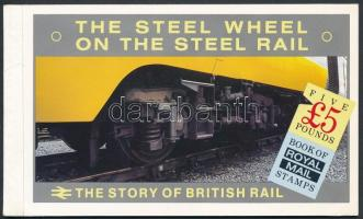 Locomotive stamp booklet, Mozdony bélyegfüzet