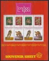 Bélyegkiállítás blokk Stamp Exhibition block