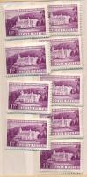 1953 Üdülők 9 db sor (10.800)