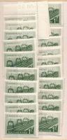 1952 Vasutasnap 20 db sor (10.000)
