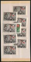 1952 Május 1. 8 db sor (10.400)