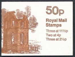 Rom bélyegfüzet Ruins stamp booklet