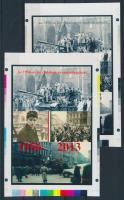2013/18 Az 1956-os forradalom és szabadságharc cromalin emlékívpár (120.000)