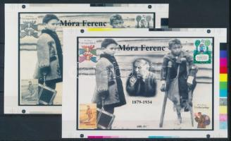 2013/15 Móra Ferenc cromalin emlékívpár (120.000)
