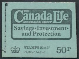 """Canada Life"" május bélyegfüzet ""Canada Life"" May stamp-booklet"