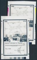 2013/17 Tupoljev cromalin emlékívpár (120.000)