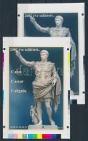 2014/10 Caesar cromalin emlékívpár (120.000)
