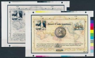 2014/04 James Cook cromalin emlékívpár (120.000)