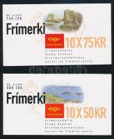 1999 Europa CEPT: Nemzeti parkok 2 klf bélyegfüzet Mi 913-914
