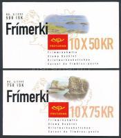 Europa CEPT: National Parks 2 stamp-booklets Europa CEPT: Nemzeti parkok 2 klf bélyegfüzet
