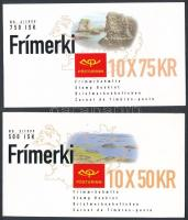 Europa CEPT: Nemzeti parkok 2 klf bélyegfüzet Europa CEPT National Parks 2 diff stampbooklets
