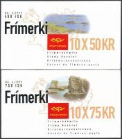 Europa CEPT: Nemzeti parkok 2 klf bélyegfüzet Europa CEPT: National Parks 2 diff stamp booklet