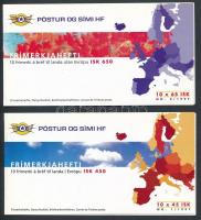 Europa CEPT: Legends 2 stamp-booklets Europa CEPT: Legendák 2 klf bélyegfüzet