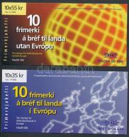 Europa CEPT: Famous women 2 stamp-booklets Europa CEPT: Híres nők 2 klf bélyegfüzet
