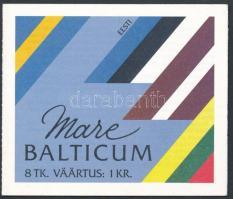 Észtország, Litvánia 1992 Madár 1-1 bélyegfüzet Mi MH 1