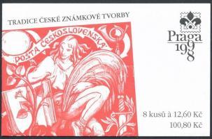 1998 Bélyegkiállítás bélyegfüzet Mi MH 52 (165)