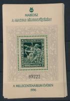 1996/15b 9 db Millecentenárium emlékív (22.500)