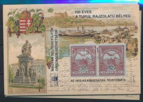 2000/7 14 db Turul emlékív (12.600)