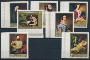 1967 Festmény (II.) ívszéli vágott sor (3.000)