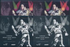 2009 Michael Jackson emlékív normál + vágott + 2 féle feketenyomat (16.000)