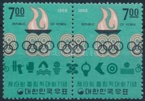1968 Mexikói olimpia pár Mi 628-629