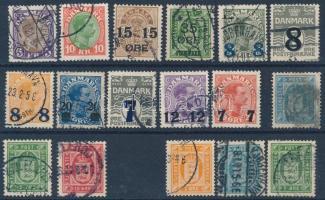 Dán kis tétel: 53 klf bélyeg közte teljes sorok (Mi EUR ~390,-)