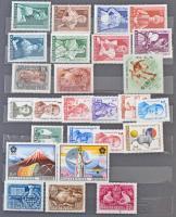 Főleg postatiszta sorok néhány régebbi kiadással, 8 lapos A/4 berakóban