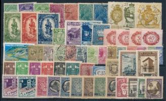 Európai államok kis tétel: 59 klf bélyeg + 5 FDC + 3 küldemény
