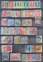 Deutsches Reich, NSZK, kevés bajor bélyeg 6 lapos közepes berakóban