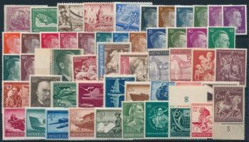 Deutsches Reich kis tétel: 52 klf bélyeg (Mi EUR ~90,-)