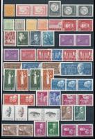 Svéd kis tétel berakólapon, benne összefüggések, bélyegfüzetek (Mi EUR ~100,-)